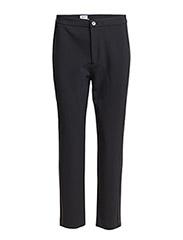 Fiona Peg Panel Pants - Navy