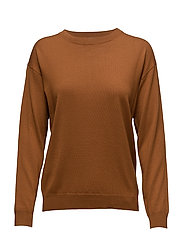 Merino R-neck Pullover - AUTUMN