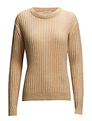 Ribbed Mohair Pullover - Pure