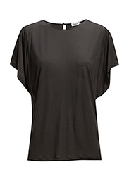 Flare Sleeve Top - Coal