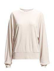 Drapey Sweat Top - Oyster
