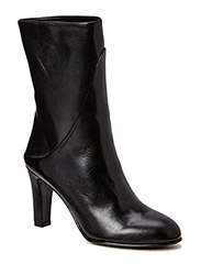 Lune Leather Boot - Black