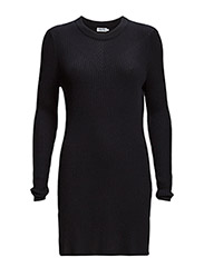 Rib Knit Tunic - Navy