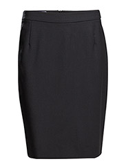 Cool Wool Pencil Skirt - DK. NAVY