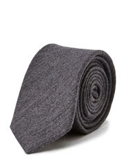 M. Flannel Tie - Granite Mel.