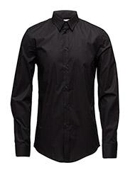 M. Paul Stretch Shirt - BLACK