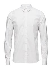 M. Paul Stretch Shirt - WHITE