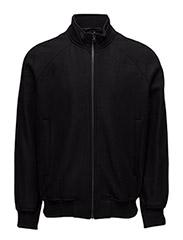 M. Yaron Wool Bomber Jacket - BLACK