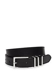 Heavy Buckle Belt - BLACK