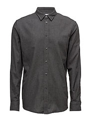 M. Peter Voile Shirt - DK. GREY M