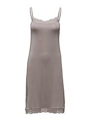 Lace Slip Dress - PLATINUM