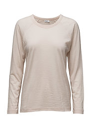 Sheer Wool Top - CHIFFON