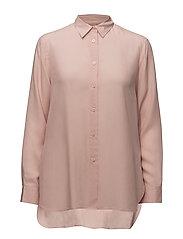 High-low Tencel Shirt - PETAL