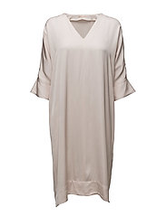 Jessie Tunic Dress - POWDER