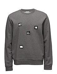 M. Tyco Cotton Sweatshirt - GREY MEL.