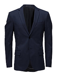 M. Rick Striped Blazer - NAVY