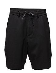 M. Liad Wool Shorts - BLACK