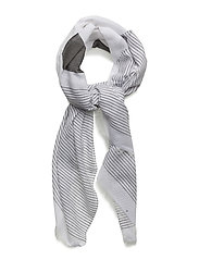 Cotton Modal Scarf - WHITE