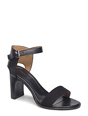 Lacey High Sandal - BLACK SUED