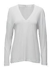 Deep V-neck Jersey Top - AIR