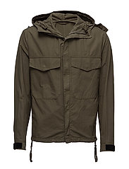 M. Nathan Cotton Jacket - AIR FORCE