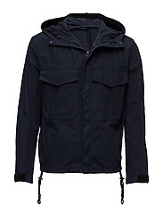M. Nathan Cotton Jacket - NAVY