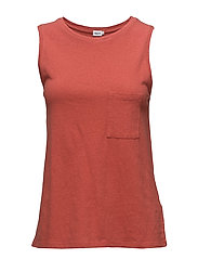 Cotton Linen Tank - SPICE