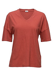 Cotton Linen Tee - SPICE