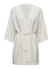 Knitted Summer Kimono - OFF WHITE