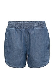 Summer Denim Shorts - MID BLUE W