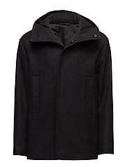 M. Short Parka - BLACK