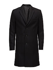M. Ralph Wool Coat - BLACK