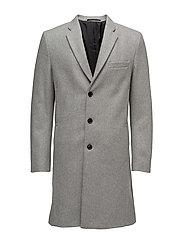 M. Ralph Wool Coat - GREY MEL.