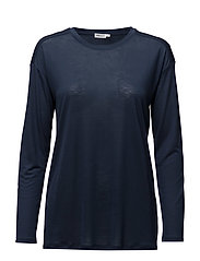 Long Sleeve Swing Top - MIDNIGHT