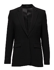 Leah Sharp Blazer - BLACK
