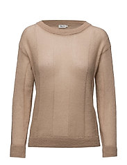 Delicate Mohair Pullover - FAWN
