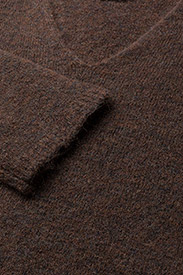 Multi V-Neck Pullover