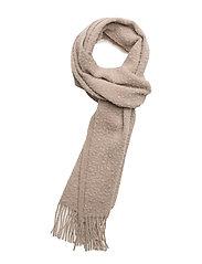 Wool Nep Scarf - MUSHROOM M