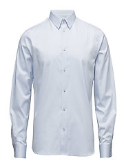 M. Pierre Twill Shirt - LIGHT BLUE