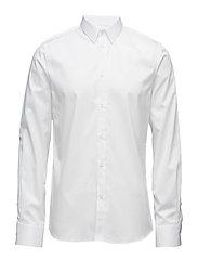 M. Pierre Twill Shirt - WHITE
