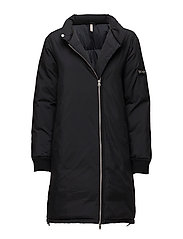 Nora Puffer Jacket - BLACK