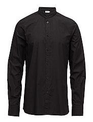 M. Pierre Garment Dyed Shirt - BLACK