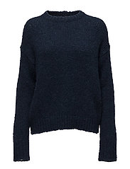 Structure R-neck Pullover - MIDNIGHT