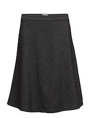 A-line skirt - ANTRACITE