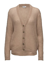 Delicate Mohair Cardi - FAWN