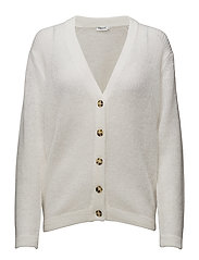 Delicate Mohair Cardi - WHITE