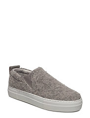 Brooke Wooly Slip On - GREY MEL.