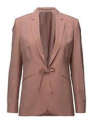 Bea Tie Front Jacket - ROSE