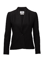 Erin Jersey Jacket - BLACK