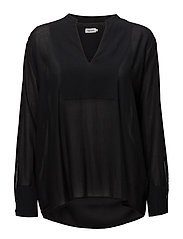Flowy Blouse - BLACK